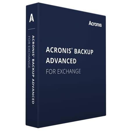 Acronis Backup Advanced for Exchange Server