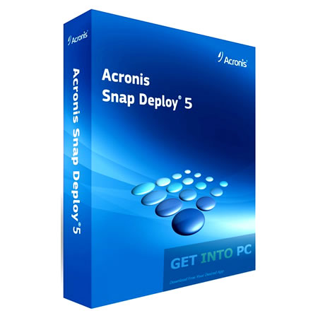 Acronis Snap Deploy5