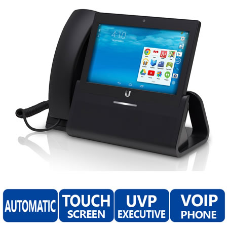 Enterprise VoIP Phone with 7 Touchscreen